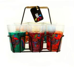 Quirky kitsch cutting chai set- Funky Fish Serveware By Pyjama Party Studio