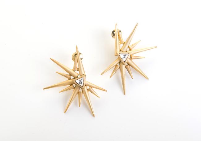 Sun Earrings by Vasundhara, Contemporary Earring