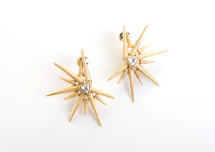 Sun Earrings Earring By Vasundhara