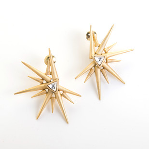 Sun Earrings by Vasundhara, Contemporary Earring
