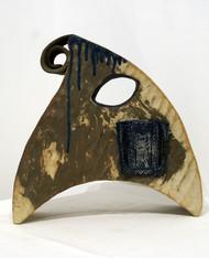 Proto Conurbation by Srinia Chowdhury, Art Deco Sculpture | 3D, Ceramic, Gray color