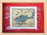 Vehicles of War 3 by Paula Sengupta, Illustration Printmaking, Etching and Aquatint, Beige color