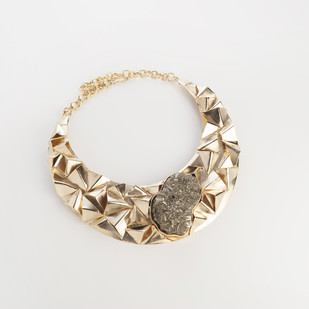 CELESTIAL MOON by Vasundhara, Contemporary Necklace