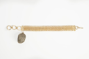 CELESTIAL ROCK MESH by Vasundhara, Contemporary Bracelet
