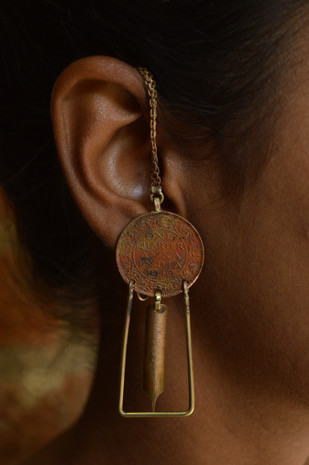 Nib-Frame Earrings Earring By KRITHAA