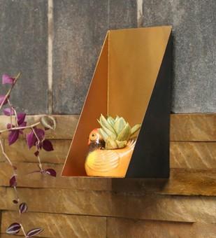 Oblique Shelf Wall Decor By Designmint