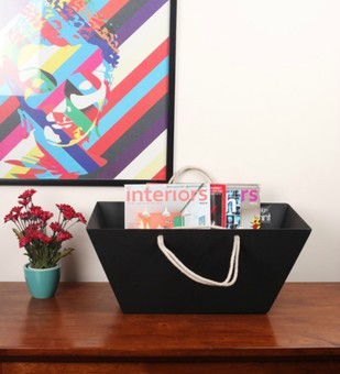 Magazine Rack Decorative Container By Designmint
