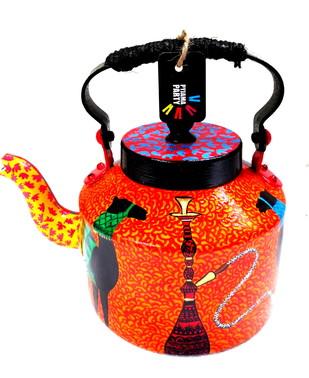 Premium hand-painted kettle- Arabian Nights 1 Serveware By Pyjama Party Studio