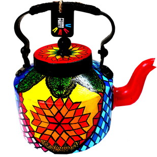 Premium hand-painted kettle- Turkish Treat Serveware By Pyjama Party Studio
