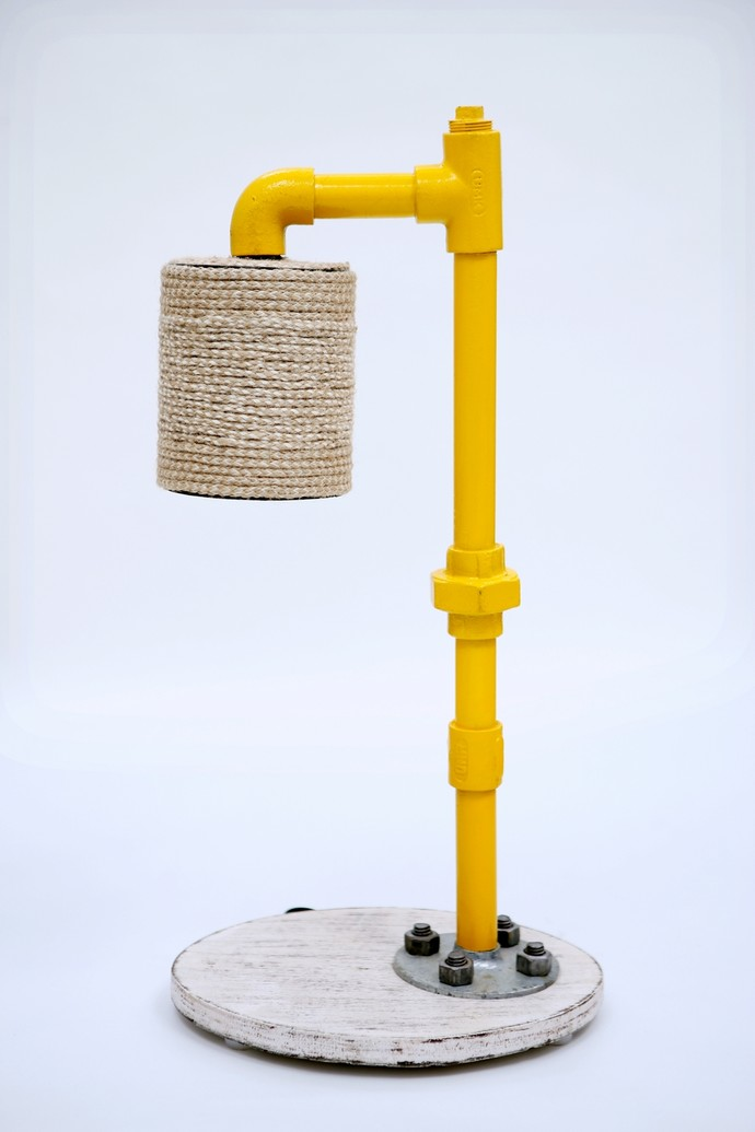 Pipe Dream Desk Lamp Table Lamp By Desi Jugaad