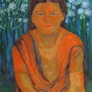 Life Garden Digital Print by Aradhna Tandon,Impressionism