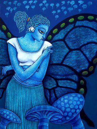 Yauvana VII Artwork By Ramchandra Pokale