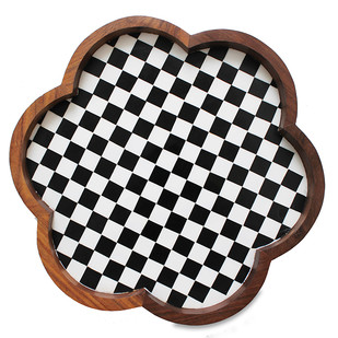 Geomeric Small Tray Tray By Mudita Mull