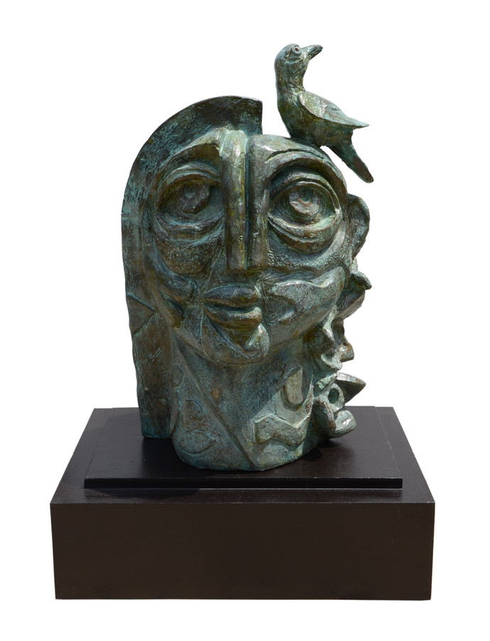 The Nature by artist Atish Mukherjee – Art Deco, Sculpture   3D ...