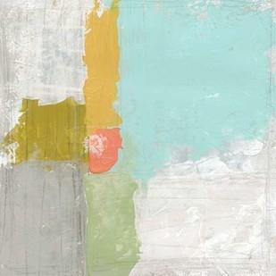 Coastal Quadrant I Digital Print by Vess, June Erica,Abstract