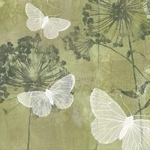 Dandelion & Wings I Digital Print by Goldberger, Jennifer,