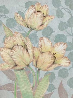 Trois Fleurs II Digital Print by OToole, Tim,Decorative