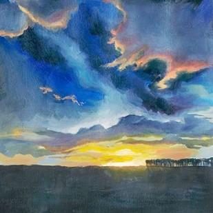 Vivid Sunset I Digital Print by Popp, Grace,Impressionism