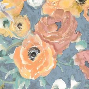 Happy Florals II Digital Print by Studio W,Impressionism