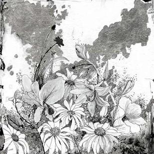 Iza's Garden II Digital Print by Blixt, Ingrid,Illustration