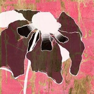 Acid Floral II Digital Print by Goldberger, Jennifer,Decorative