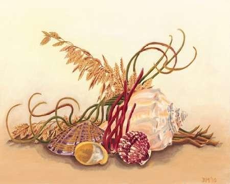 Sea Still Life II Digital Print by Miller, Dianne,Realism