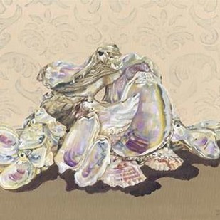 Shell Collection II Digital Print by Miller, Dianne,Impressionism