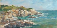 Impasto Ocean View I Digital Print by Harper, Ethan,Realism