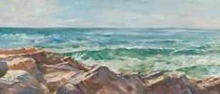 Impasto Ocean View III Digital Print by Harper, Ethan,Realism
