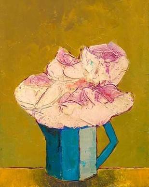Graphic Vase of Flowers I Digital Print by Altug, Mehmet,Decorative