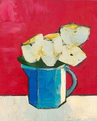 Graphic Vase of Flowers II Digital Print by Altug, Mehmet,Decorative