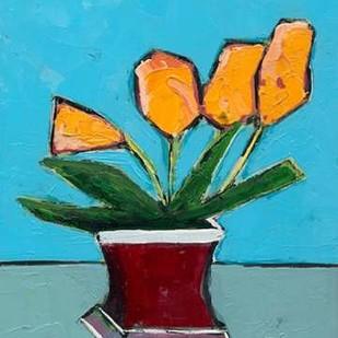 Graphic Vase of Flowers III Digital Print by Altug, Mehmet,Decorative