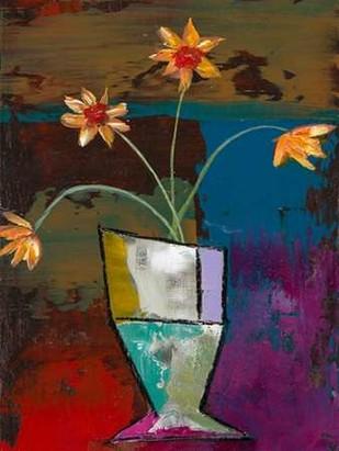 Abstract Expressionist Flowers II Digital Print by Altug, Mehmet,Decorative