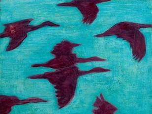 Flying Silhouettes II Digital Print by Altug, Mehmet,Impressionism