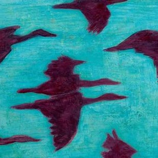 Flying Silhouettes II Digital Print by Altug, Mehmet,Impressionism