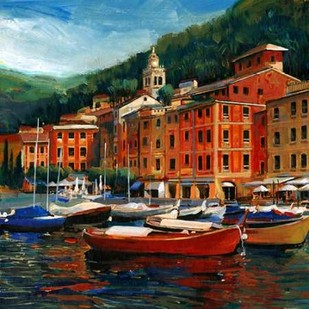Italian Village I Digital Print by OToole, Tim,Impressionism