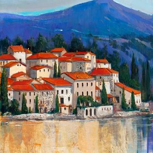 Italian Village II Digital Print by OToole, Tim,Impressionism