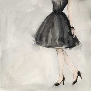 Little Black Dress II Digital Print by Meagher, Megan,Decorative
