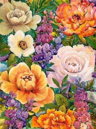 Flower Bouquet I Digital Print by OToole, Tim,Decorative
