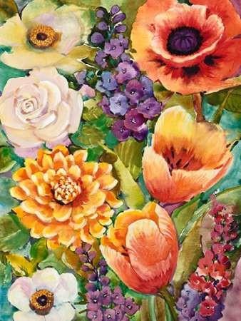 Flower Bouquet II Digital Print by OToole, Tim,Decorative