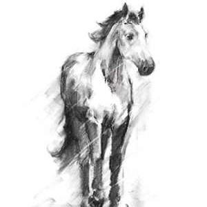 Dynamic Equestrian II Digital Print by Harper, Ethan,Impressionism