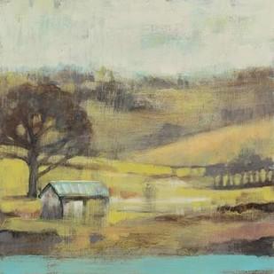 Pastoral Mist I Digital Print by Goldberger, Jennifer,Impressionism