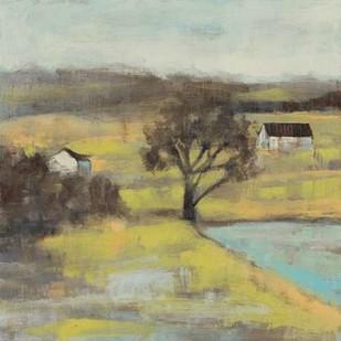 Pastoral Mist II Digital Print by Goldberger, Jennifer,Impressionism