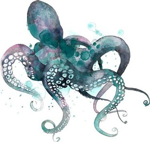 Tentacles I Digital Print by Popp, Grace,Decorative