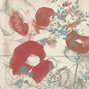 Floral Flutter I Digital Print by Goldberger, Jennifer,Decorative