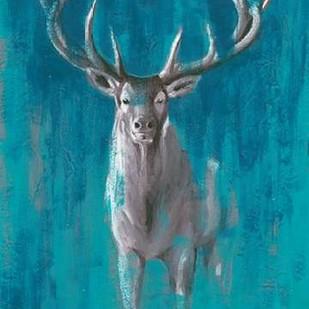 Contemporary Cervidae II Digital Print by Popp, Grace,Impressionism