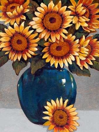Vase of Sunflowers I Digital Print by OToole, Tim,Decorative