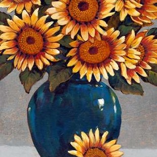 Vase of Sunflowers I Digital Print by OToole, Tim,Decorative
