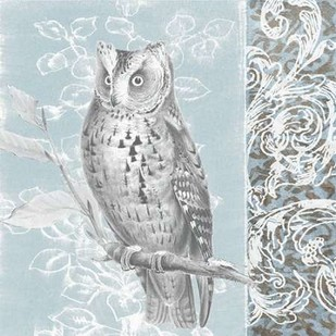 Owl Filigree I Digital Print by Studio W,Decorative