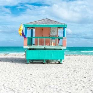 Miami Beach VI Digital Print by Silver, Richard,Impressionism